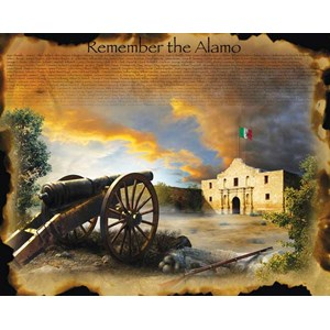 "SunsOut (67952) - Jim Todd: ""Remember the Alamo"" - 1000 piezas"