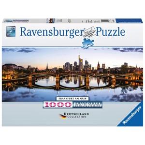"""Ravensburger (15162) - """"Frankfurt am Main"""" - 1000 piezas"""
