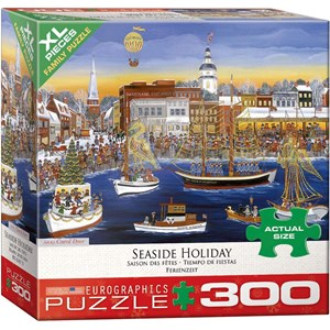 "Eurographics (8300-5402) - Carol Dyer: ""Seaside Holiday"" - 300 piezas"