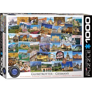 "Eurographics (6000-5465) - ""Globetrotter Germany"" - 1000 piezas"
