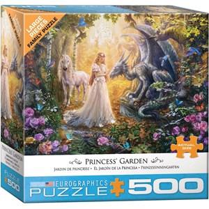 "Eurographics (6500-5458) - ""Princess' Garden"" - 500 piezas"