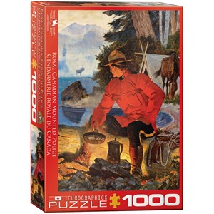 "Eurographics (6000-5352) - ""Morning Campfire"" - 1000 piezas"