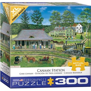 "Eurographics (8300-5388) - Bob Fair: ""Canaan Station"" - 300 piezas"