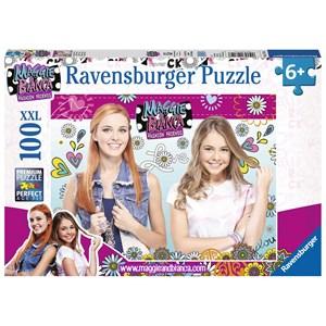 "Ravensburger (10714) - ""Maggie & Bianca"" - 100 piezas"