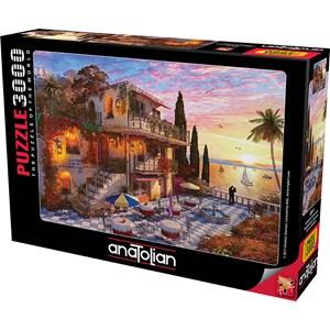 "Anatolian (4911) - Dominic Davison: ""Mediterranean Romance"" - 3000 piezas"