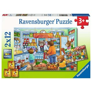 "Ravensburger (05076) - ""At the Grocer's"" - 12 piezas"