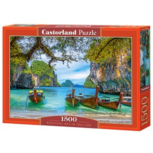 "Castorland (C-151936) - ""Beautiful Bay in Thailand"" - 1500 piezas"