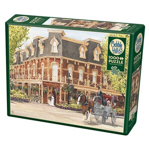 """Cobble Hill (80290) - Walter Campbell: """"Prince of Wales Hotel"""" - 1000 piezas"""
