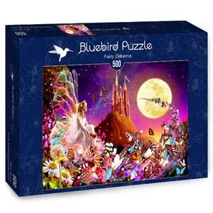 """Bluebird Puzzle (70177) - Bente Schlick: """"Fairy Dreams"""" - 500 piezas"""