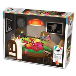 "Cobble Hill (80205) - Matthew Inman: ""Cats Playing Hippos"" - 1000 piezas"