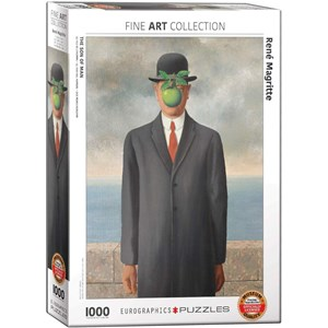 "Eurographics (6000-5478) - Rene Magritte: ""Son of Man"" - 1000 piezas"