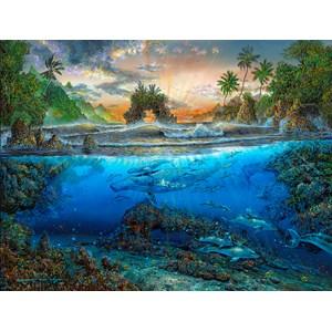 "SunsOut (80168) - Robert Lyn Nelson: ""Secret Cove"" - 500 piezas"
