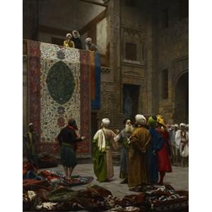 """D-Toys (72726) - Jean-Leon Gerome: """"Carpet Merchant in Cairo, 1887"""" - 1000 piezas"""