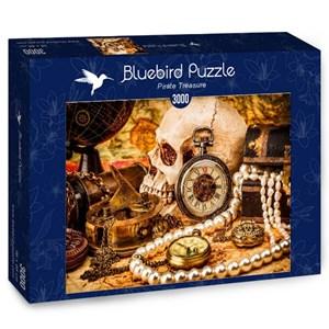"Bluebird Puzzle (70048) - ""Pirate Treasure"" - 3000 piezas"