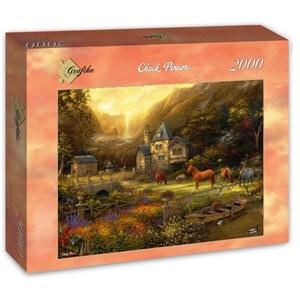 "Grafika (t-00819) - Chuck Pinson: ""The Golden Valley"" - 2000 piezas"