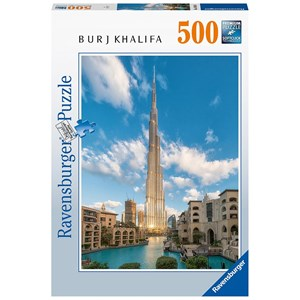 "Ravensburger (16468) - ""Burj Khalifa Dubai"" - 500 piezas"