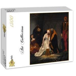 "Grafika (00752) - Paul Delaroche: ""The Execution of Lady Jane Grey, 1833"" - 1500 piezas"
