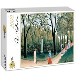 "Grafika (00503) - Henri Rousseau: ""Le Jardin du Luxembourg, 1909"" - 2000 piezas"