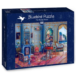 "Bluebird Puzzle (70341) - John O'Brien: ""The Music Room"" - 1000 piezas"