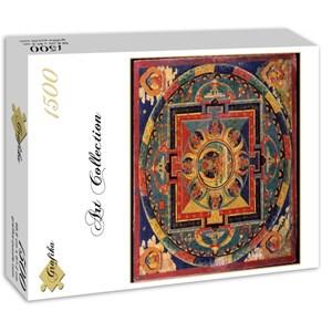 """Grafika (00753) - """"Tibetan School, Amitabha Mandala"""" - 1500 piezas"""