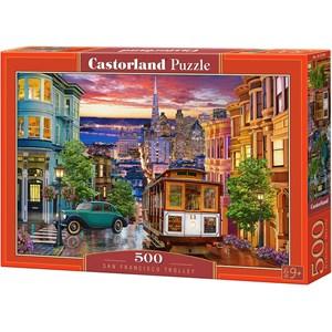 "Castorland (B-53391) - ""San Francisco Trolley"" - 500 piezas"