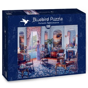 "Bluebird Puzzle (70335) - John O'Brien: ""Romantic Reminiscence"" - 1000 piezas"