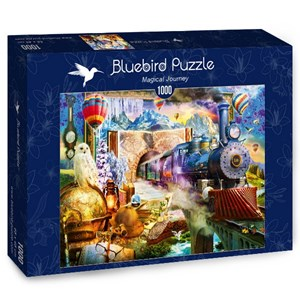 "Bluebird Puzzle (70343) - Jan Patrik Krasny: ""Magical Journey"" - 1000 piezas"