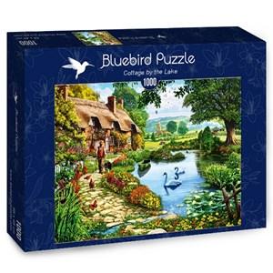"""Bluebird Puzzle (70315) - Steve Crisp: """"Cottage by the Lake"""" - 1000 piezas"""