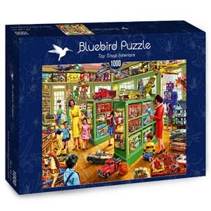 "Bluebird Puzzle (70324) - Steve Crisp: ""Toy Shop Interiors"" - 1000 piezas"