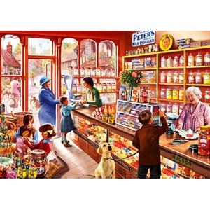 """Bluebird Puzzle (70318) - Steve Crisp: """"Sweetshop"""" - 1000 piezas"""