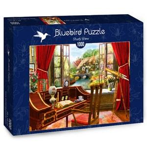 "Bluebird Puzzle (70320) - Dominic Davison: ""Study View"" - 1000 piezas"