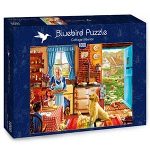 "Bluebird Puzzle (70323) - Steve Crisp: ""Cottage Interior"" - 1000 piezas"