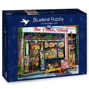 """Bluebird Puzzle (70327) - Aimee Stewart: """"The Bookshop Kids"""" - 1000 piezas"""