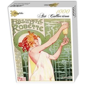 """Grafika (00496) - Henri Privat-Livemont: """"Absinthe Robette, 1896"""" - 1000 piezas"""