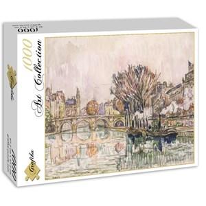 "Grafika (00494) - Paul Signac: ""Le Pont Neuf, Paris, 1928"" - 1000 piezas"