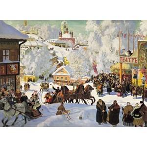 "D-Toys (73846) - Boris Kustodiev: ""Maslenitsa"" - 1000 piezas"