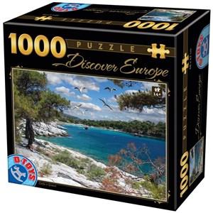 "D-Toys (74898) - ""Corfu"" - 1000 piezas"