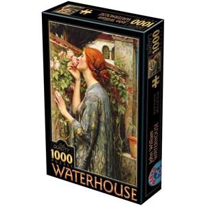 "D-Toys (75062) - John William Waterhouse: ""The Soul of the Rose"" - 1000 piezas"