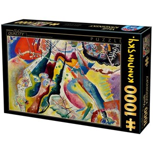 "D-Toys (75116) - Vassily Kandinsky: ""Painting with Red Spot"" - 1000 piezas"