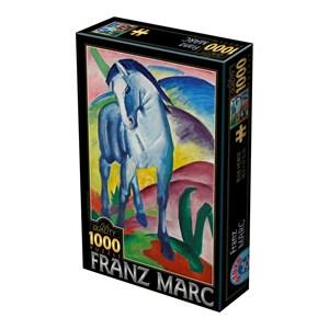 """D-Toys (75147) - Franz Marc: """"Blue Horse"""" - 1000 piezas"""