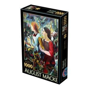 "D-Toys (75154) - August Macke: ""Two Girls"" - 1000 piezas"