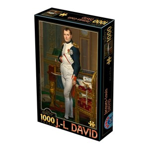 "D-Toys (75000) - Jacques-Louis David: ""The Emperor Napoleon in his study at the Tuileries, 1812"" - 1000 piezas"