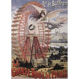"""D-Toys (74959) - """"La Grande Roue de Paris"""" - 1000 piezas"""