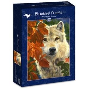 "Bluebird Puzzle (70074) - Lucie Bilodeau: ""Woodland Prince"" - 1000 piezas"