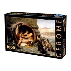 "D-Toys (75017) - Jean-Leon Gerome: ""Diogenes, 1860"" - 1000 piezas"