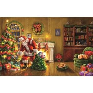 """SunsOut (60607) - Marcello Corti: """"Santa's Special Delivery"""" - 550 piezas"""