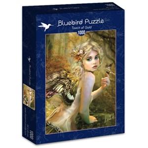 "Bluebird Puzzle (70174) - Bente Schlick: ""Touch of Gold"" - 1000 piezas"