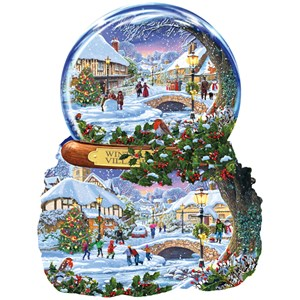 "SunsOut (97152) - Steve Crisp: ""Winter Village"" - 1000 piezas"