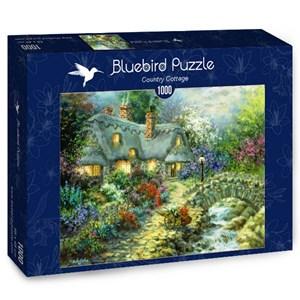 "Bluebird Puzzle (70064) - Nicky Boehme: ""Country Cottage"" - 1000 piezas"