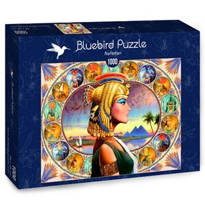 "Bluebird Puzzle (70130) - Andrew Farley: ""Nefertari"" - 1000 piezas"